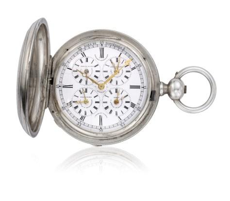Girard-Perregaux Reloj de bolsillo de 1860 con 5 zonas horarias