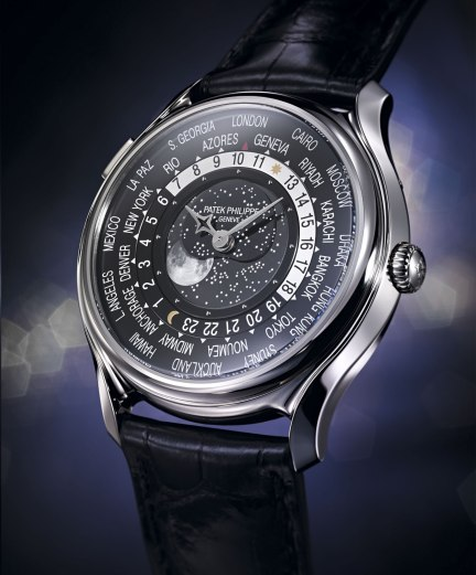 Patek Philippe World Time Moon 5575 ambiente