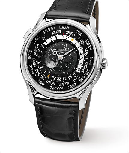 Patek Philippe World Time Moon 5575 perfil
