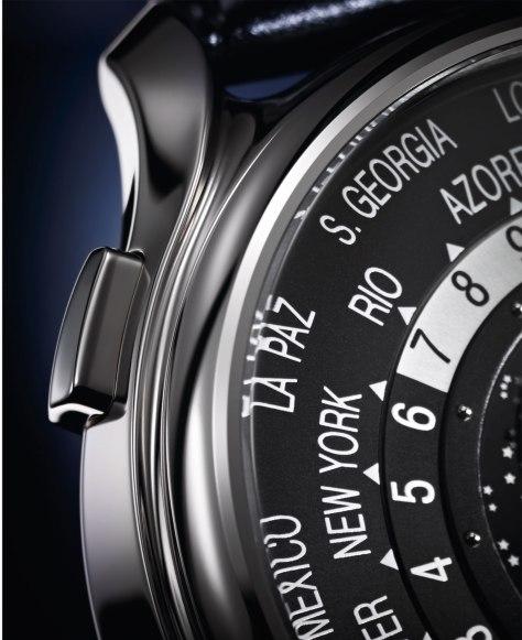 Patek Philippe World Time Moon 5575 pulsador