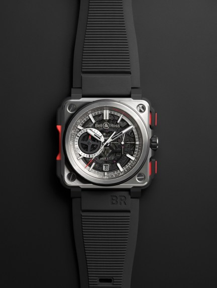 Bell & Ross BR-X1 Skeleton Chronograph frontal