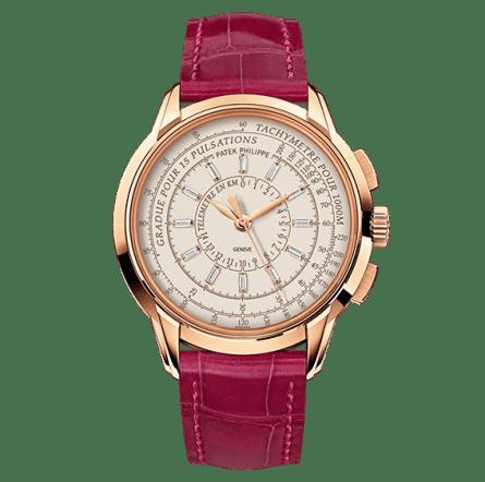 Multi Scale Chronograph oro rosa mujer