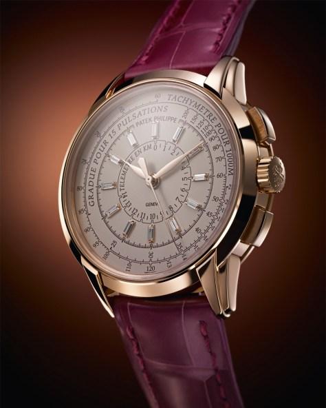 Patek Philippe Multi Scale Chronograph oro y diamantes