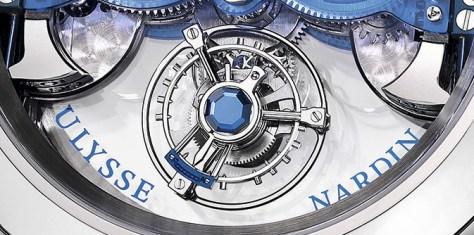 Ulysse Nardin Imperial Blue detalle inferior