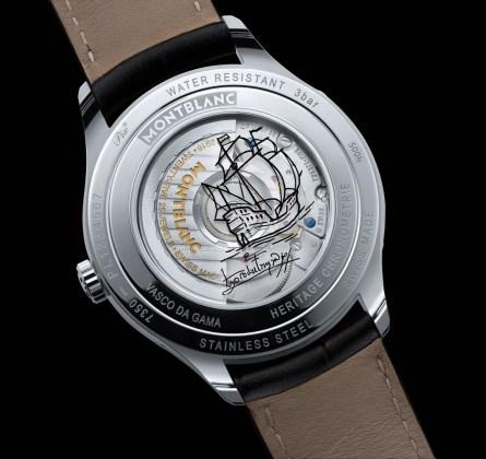 Montblanc Heritage Chronométrie Quantième Complet Vasco da Gama - reverso