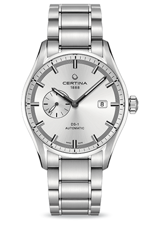Certina DS 1 Small Seconds  esfera gris