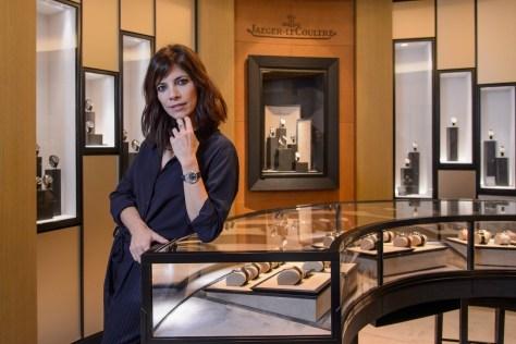 Maribel Verdú en la boutique de JaegerLeCoultre en Madrid
