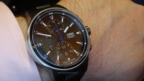 Oris Williams Chronograph lateral