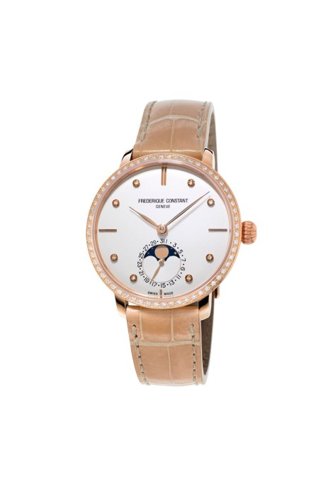 Slimline Moonphase Manufacture For Women