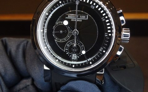 Breguet Marine Chronograph 200 ans de Marine esfera
