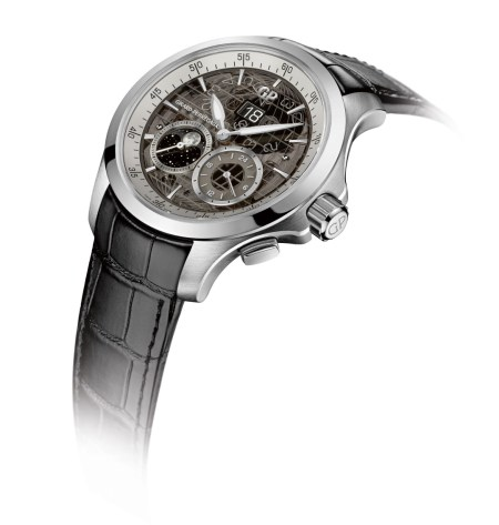 Girard-Perregaux Traveller Large Date Moonphase and GMT acero perfil (2)