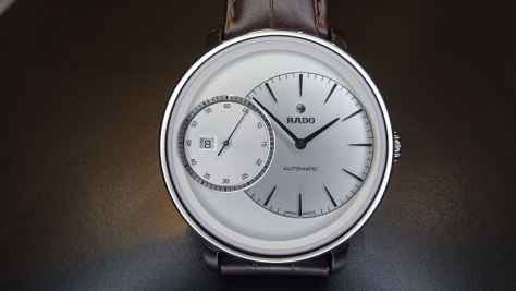 Rado DiaMaster Grande Seconde frontal