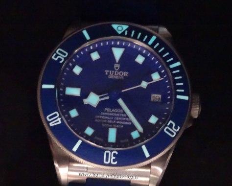 Tudor Pelagos Azul SuperLuminova