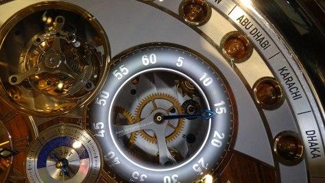 Thomas Mercer Observatory -indicador minutos