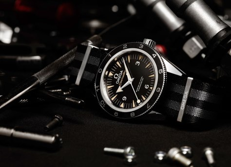 OMEGA Seamaster 300 Spectre ambiente