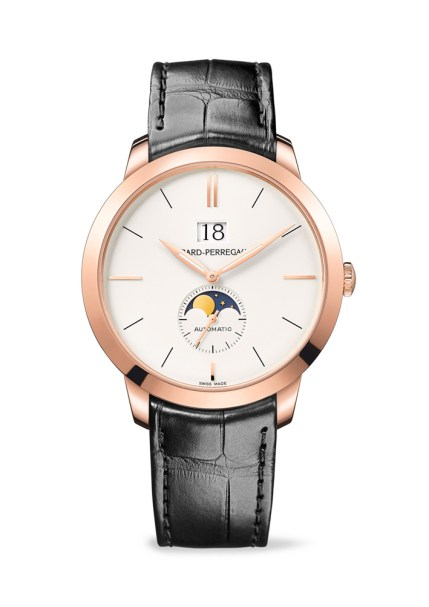 Girard-Perregaux 1966 Large Date and Moon Phases oro rosa