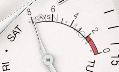 IWC Portofino Manual Día y Fecha superposición contadores