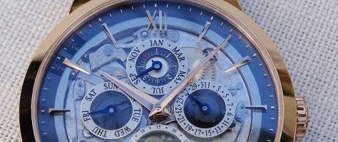 Montblanc Heritage Spirit Perpetual Calendar Sapphire calendario