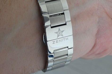 Zenith El Primero Sport detalle del brazalete
