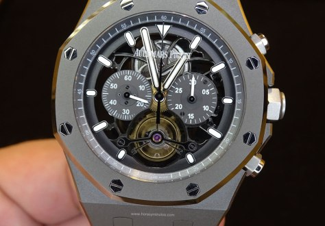 Audemars Piguet Royal Oak Tourbillon Chronograph frontal Horas y Minutos