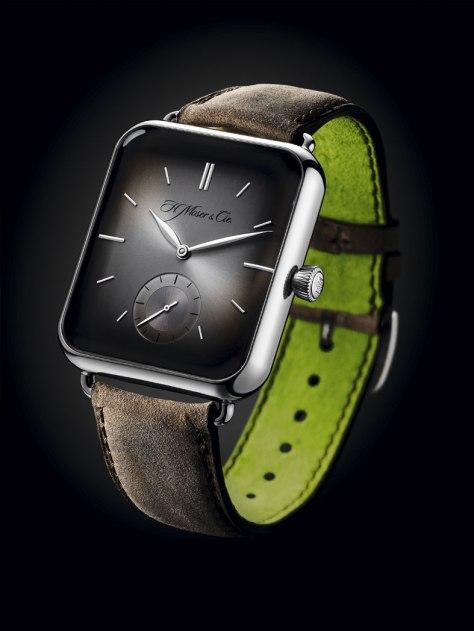 H Moser Swiss Alp Watch perfil