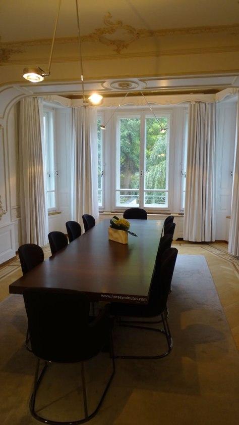 Manufactura Montblanc - sala de reuniones