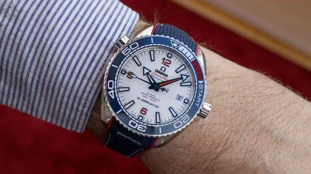 Así queda el OMEGA Seamaster Planet Ocean 36th America's Cup Limited Edition