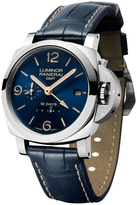 Panerai-Blue-Dial-Luminor-1950-10-days-GMT-Automatic-Acciao-Horasyminutos