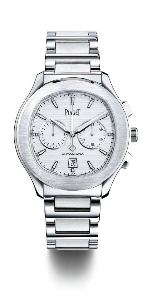 Piaget-Polo-S-Chronograph-Blanco-Horasyminutos