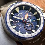 Seiko Marinemaster GPS Solar Dual Time: fotos en vivo y precio