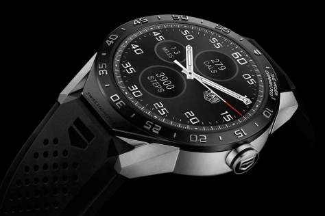 TAG Heuer Connected cronografo lateral