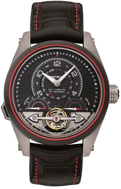 Timewalker Exotourbillon Minute Chonograph Limited Edition 100 frontal