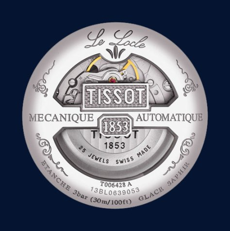 Tissot-Pre-Basel-2016-Le-Locle-Regulateur-reverso-Horas-y-Minutos