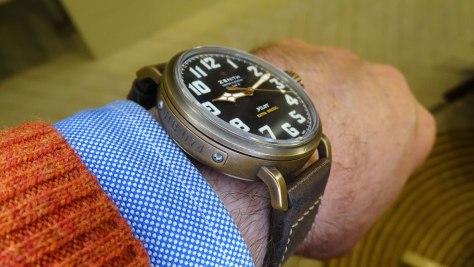 Zenith Pilot Type 20 Extra Special Bronze lateral