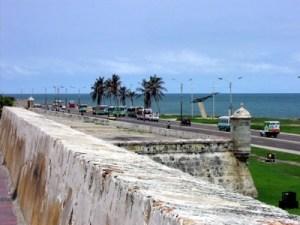 Hören in Cartagena Befestigungsanlagen