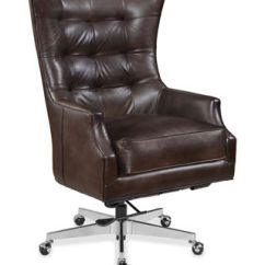 Distressed Leather Desk Chair Retro Metal Lawn Chairs Hooker Furniture Rafael Executive Office