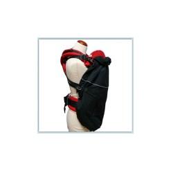 Flex Fekete hordozós takaró-Mam Deluxe