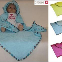 Pihe-puha törölköző babáknak és gyerekeknek