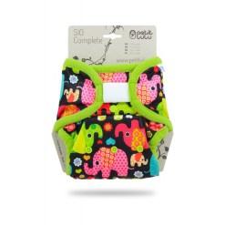 Petit Lulu SIO mosható pelenka baby elephant