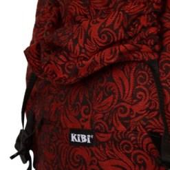 KIBI Flora Red velvet CSATOS Hordozó