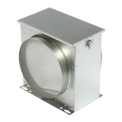 luchtfilterbox en vliesfilter 100 mm