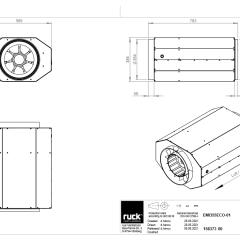 Geïsoleerde EC buisventilator 3255 m3/h – (EMI 355 EC 01)
