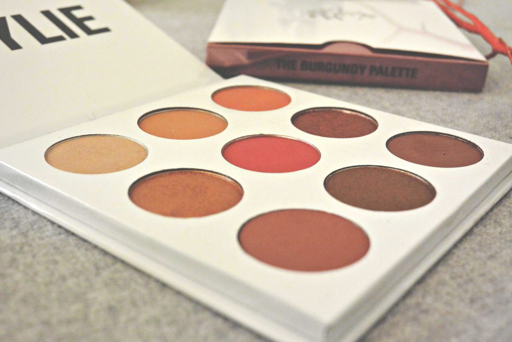 The Burguny Palette, Kylie Cosmetics