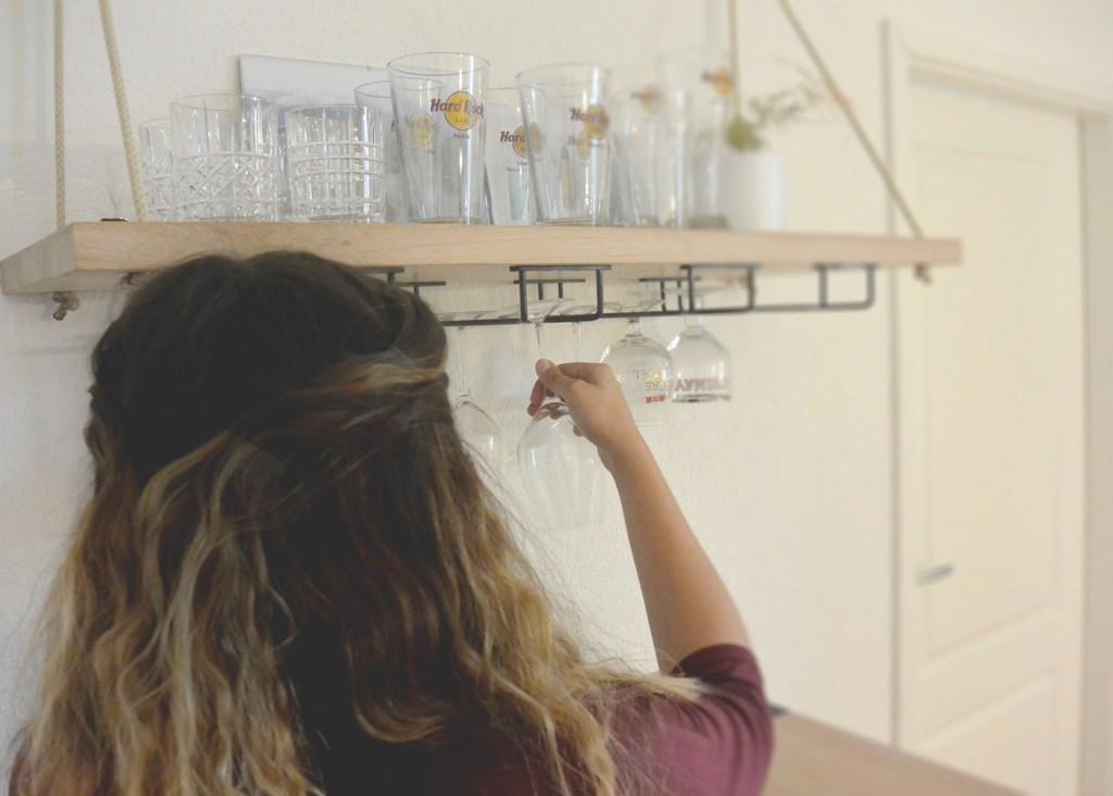 Rangement des verres