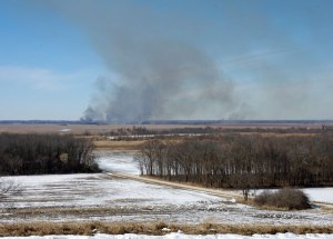 Controlled Burning at the Horicon Marsh