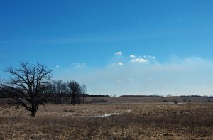 Clouds on the Smoke at the Horicon Marsh