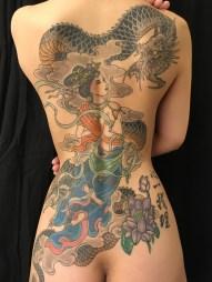 天女と龍 Tennyo and Dragon