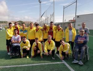 """Equip futbol 7 HORITZÓ-CAN MIR """"A"""" @ Rubí"""