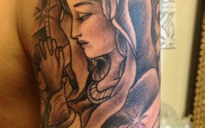 マリアのタトゥー