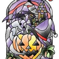 ハロウィンのデザイン画像